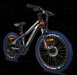 SuperSuper Kiyoko Mountainbike 24 inch N7 - Blauw