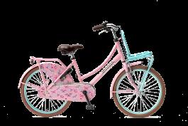 Popal Daily Dutch Basic Meisjesfiets 22 inch - Mint Roze