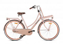 Popal Daily Dutch Basic+ Damesfiets 28 inch N3 - Zalm
