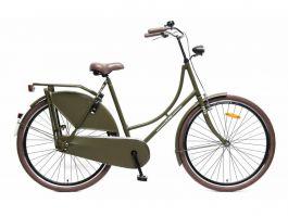 Popal Omafiets 3 Versnellingen 28 inch - Army Green