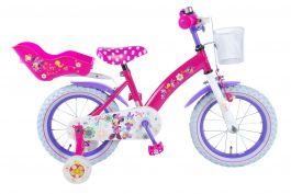 Disney Minnie Bow-Tique Kinderfiets - Meisjes - 14 inch - Roze