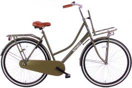 Spirit Omafiets Plus 28 inch - Mat Groen