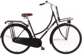 Spirit Omafiets Plus 28 inch - Mat Zwart