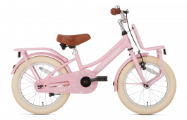 SuperSuper Cooper Meisjesfiets 16 inch - Roze
