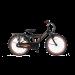 Popal Funjet Jongensfiets 22 inch N3 - Mat Zwart / Oranje