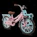 SuperSuper Lola Meisjesfiets 20 inch - Roze/Turquoise