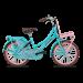 Popal Daily Dutch Basic Meisjesfiets 20 inch - Turquoise Roze