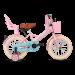 SuperSuper Little Miss Meisjesfiets 14 inch - Roze