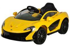 McLaren P1 - Geel - Elektrische Auto-  met Afstandsbediening - 12 Volt