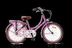Popal Omafiets N3 22 inch - Roze
