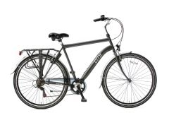 Popal City Herenfiets 28 inch 6 versnellingen - Iron Grey