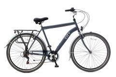 Popal City Herenfiets 28 inch 6 versnellingen - Steel Blue