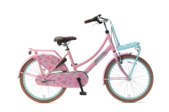 Popal Daily Dutch Basic+ Meisjesfiets 22 inch - Mint Roze