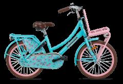 Popal Daily Dutch Basic Meisjesfiets 20 inch - Roze Turquoise