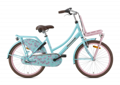 Popal Daily Dutch Basic+ Meisjesfiets 22 inch - Bloom Turquoise