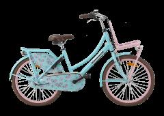 Popal Daily Dutch Basic+ Meisjesfiets 22 inch - Bloom Turquoise
