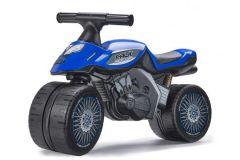 Falk Baby Racing Team Moto - Unisex - Blauw - Loopfiets