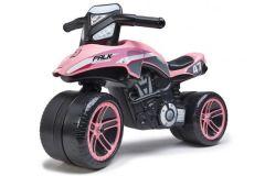 Falk Racing Team Moto - Unisex - Roze - Loopfiets