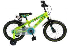 Volare Electric Green Kinderfiets - Jongens - 16 inch - Groen - 2 handremmen