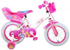 Disney Princess Kinderfiets - Meisjes - 14 inch - Roze - twee handremmen