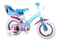 Disney Frozen 2 Kinderfiets - Meisjes - 12 inch - Blauw/Paars