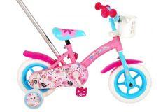 OJO Kinderfiets - Meisjes - 10 inch - Roze/Blauw