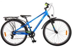 Volare Cross Kinderfiets - Jongens - 26 inch - Donkerblauw - 7 versnellingen - Prime Collection