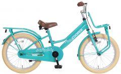 Popal Meisjesfiets Cooper 18 inch - Turquoise