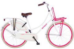 Spirit Omafiets 26 inch - Wit Roze