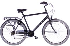Spirit Regular Herenfiets 7-Speed 28 inch - Mat Zwart