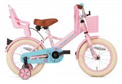 SuperSuper Little Miss Meisjesfiets 14 inch - Roze main