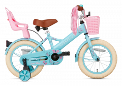 SuperSuper Little Miss Meisjesfiets 14 inch - Turquoise