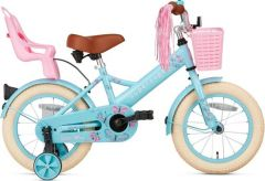 SuperSuper Little Miss Meisjesfiets Turquoise 14 inch