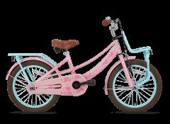 SuperSuper Lola Meisjesfiets 16 inch - Roze/Turquoise