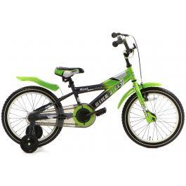 Popal Bike 2 Fly Jongensfiets 16 inch - Groen