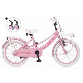 Popal Lola Meisjesfiets 18 inch - Roze