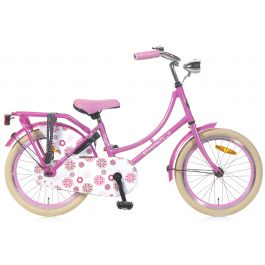 Popal Omafiets 18 inch - Roze