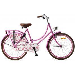Popal Omafiets 24 inch - Roze
