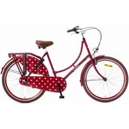 Popal Omafiets 26 inch - Rood