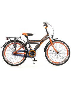 Popal Funjet Jongensfiets 22 inch Oranje/Zwart
