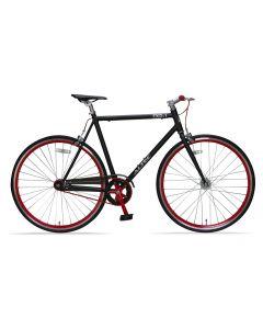 Altec Fixed Gear 28 inch - Zwart/Rood