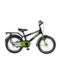 Altec Stitch Jongensfiets 18 inch - Zwart/Groen
