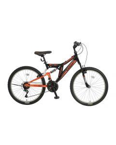Umit Blackmount 26 inch MTB - Zwart / Oranje
