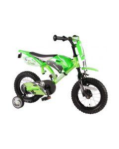 Volare Motobike Jongensfiets 12 inch - Groen