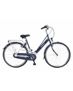 Damesfiets Popal City Classic 28 inch 3 versnellingen - Blauw