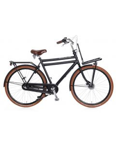 Popal Herenfiets Daily Dutch Prestige N3 RB - Mat Zwart