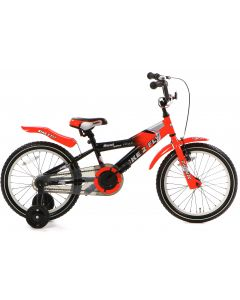 Popal Bike 2 Fly Jongensfiets 16 inch - Rood