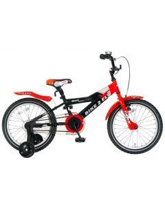 Popal Bike 2 Fly Jongensfiets 18 inch - Rood/Zwart