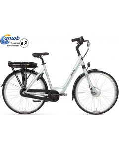 Popal E-Volution 12.2 Damesfiets - Silver Mint