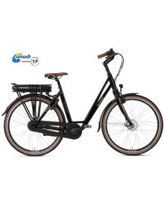 Popal E-Volution 5.0 Damesfiets - Shiny Black